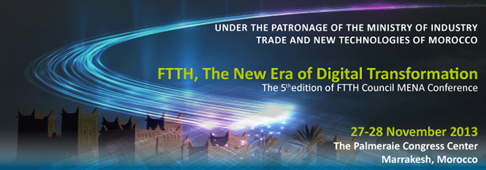FTTH Conference Mena Banner