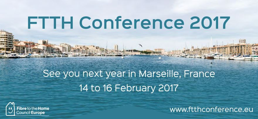 FTTH Conference MARSEILLE Banner