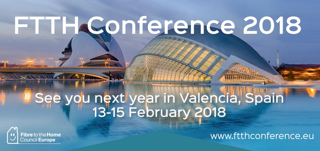 FTTH Conference Valencia, Spain